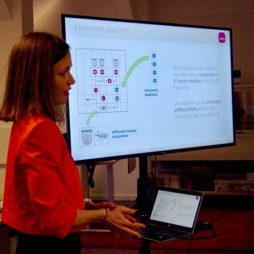 """Netzwerk-Veranstaltung """"Bioprozesse automatisieren"""" - Nina Buffi"""