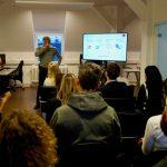 Netzwerk-Veranstaltung bei der OSPIN GmbH - Jan Saam, Nina Buffi