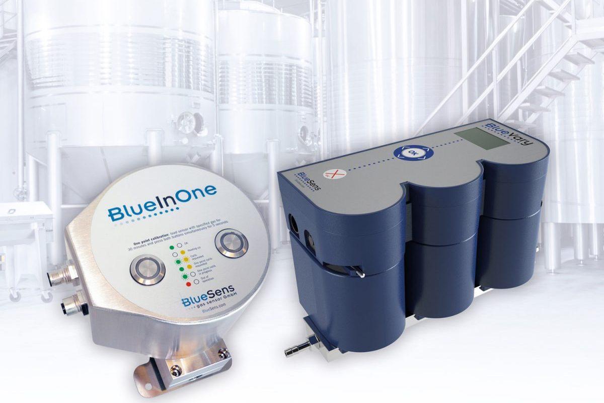 BlueSens gas sensor GmbH - Einsatz an Fermentern