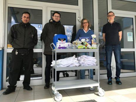 KNAUER KNAUER unterstützt Flüchtlingsheim
