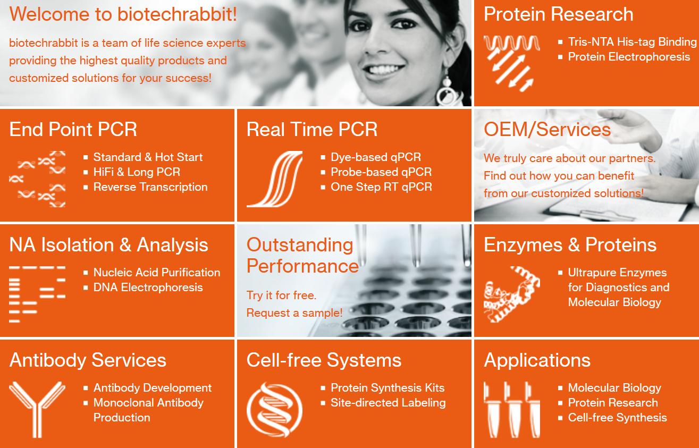 biotechrabbit GmbH - Produkte