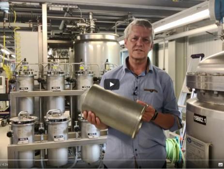 Herstellung biobasierter Chemikalien am ATB
